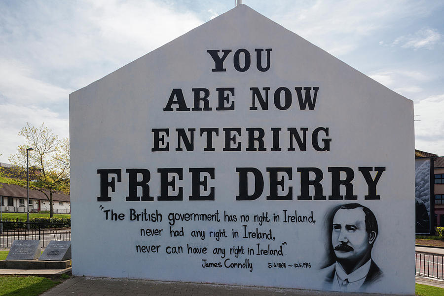 Horizontal Photograph - Free Derry Corner, Republican Political by Panoramic Images