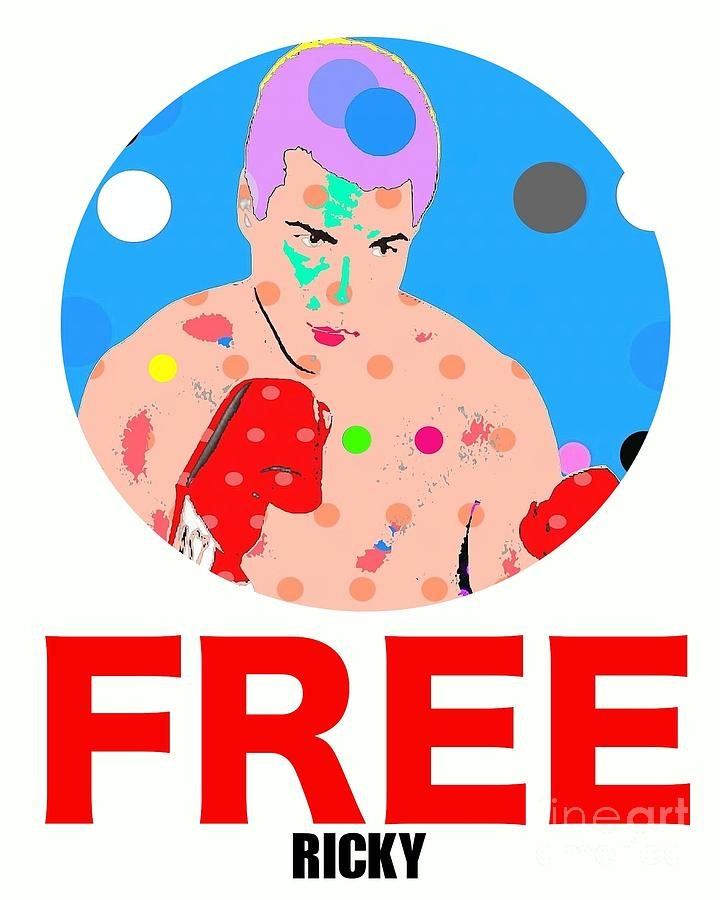 Free Ricky Digital Art - Free Ricky by Ricky Sencion