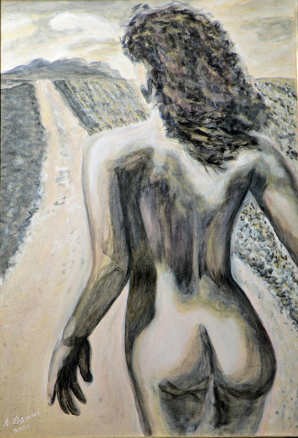 Nude Painting - Freedom by Augusta Stylianou