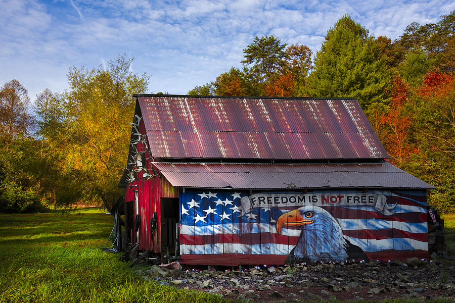 American Photograph - Freedom Is Not Free by Debra and Dave Vanderlaan