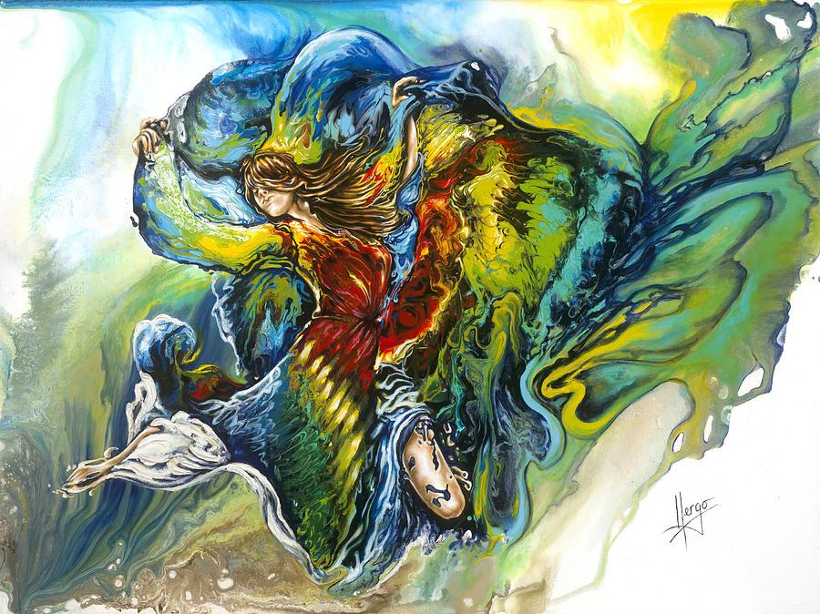Freedom Painting - Freedom by Karina Llergo