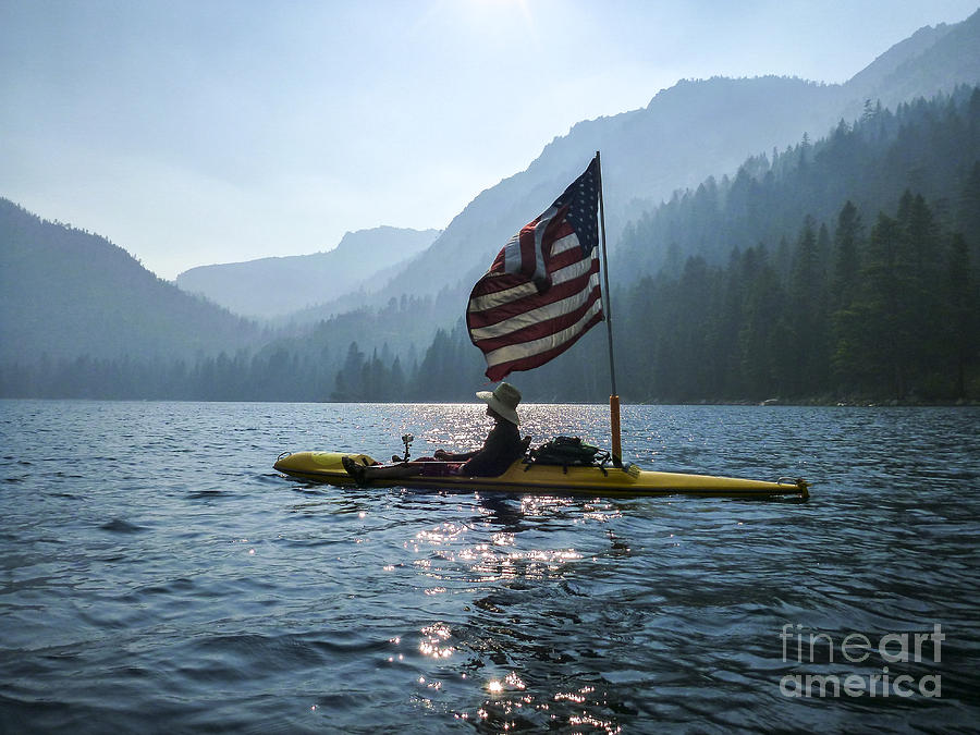 Kayak Photograph - Freedom Of The Sierras by Cheryl Wood