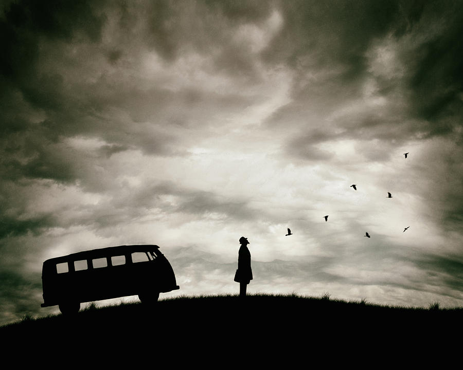 Silhouette Photograph - Freedom by Petri Damst?n