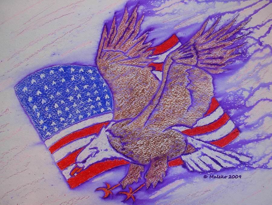 Bald Eagle Mixed Media - Freedom Reigns by Mark Schutter