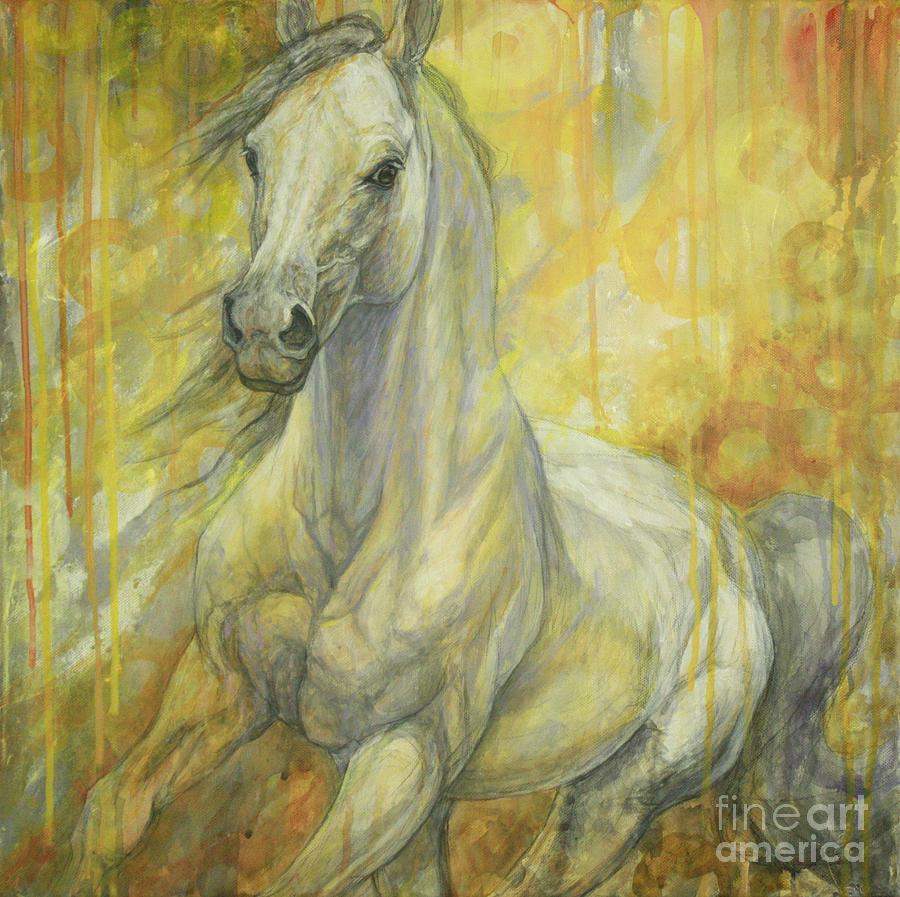 Freedom painting by silvana gabudean dobre for Imagenes de cuadros abstractos famosos