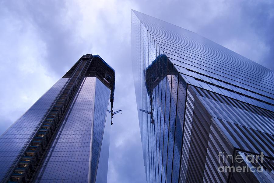New York City Photograph - Freedom Tower Ground Zero New York City by Sabine Jacobs
