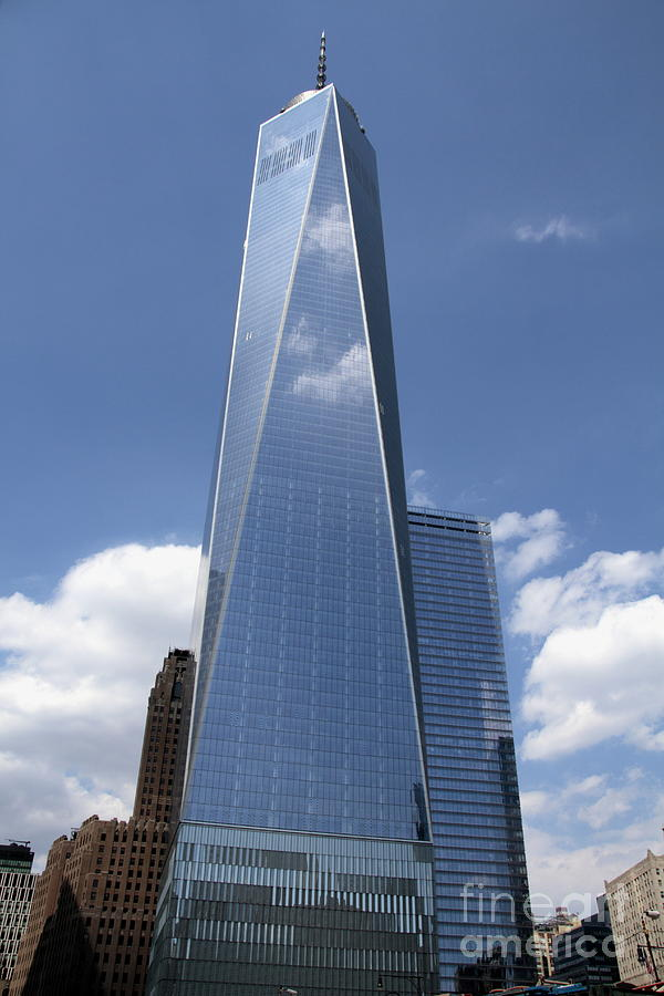 Freedom Tower Photograph - Freedom Tower by Linda C Johnson