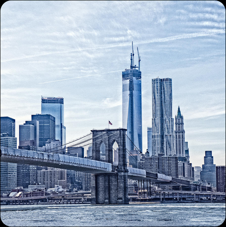 New York City Photograph - Freedom Tower Rising by Frank Winters
