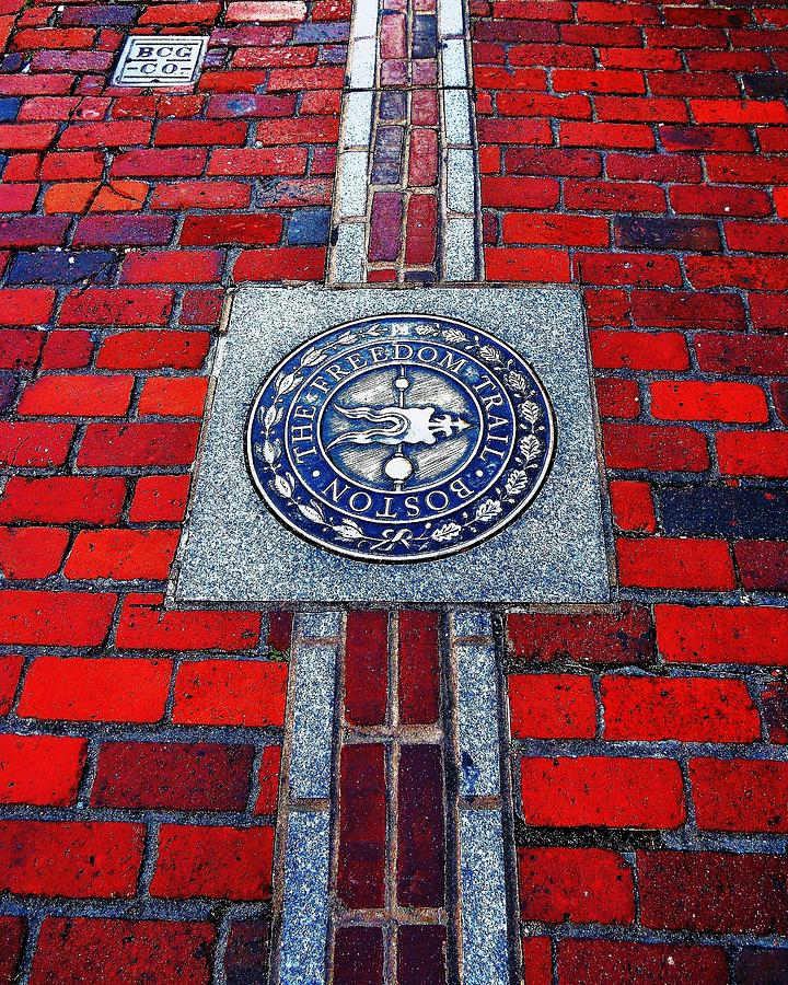 Boston Photograph - Freedom Trail by Benjamin Yeager