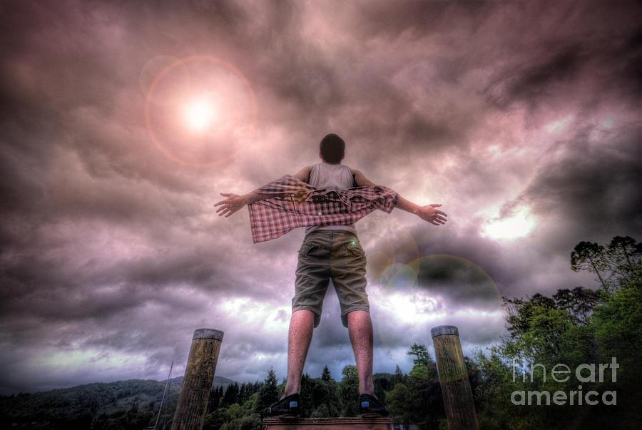 Yhun Suarez Photograph - Freedom by Yhun Suarez