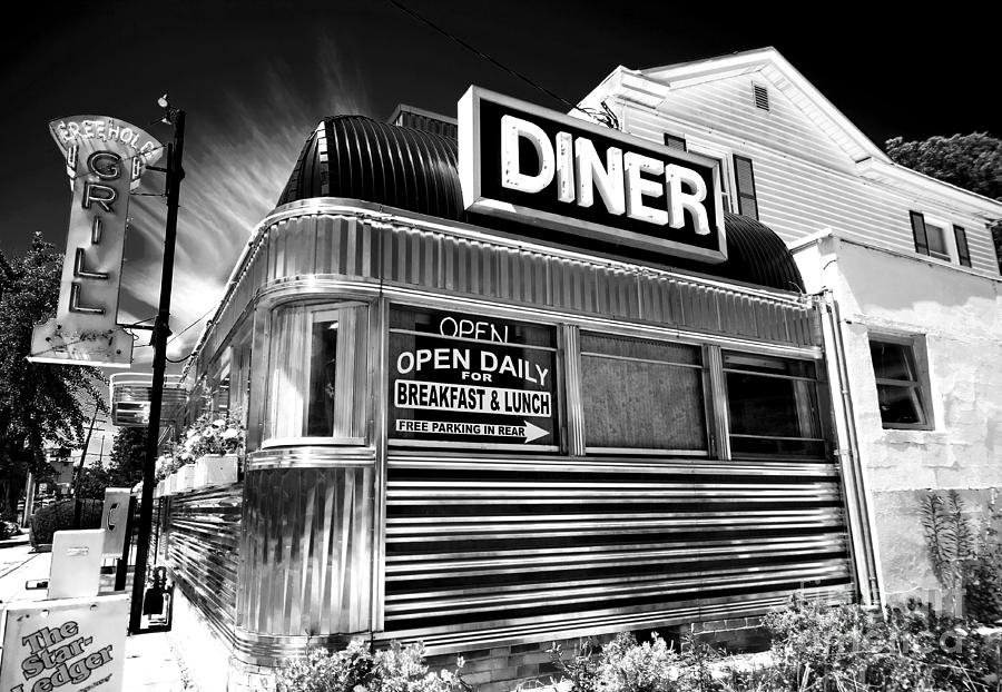 Freehold Diner Photograph - Freehold Diner New Jersey by John Rizzuto