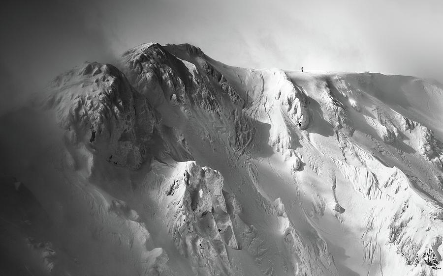 Tatras Photograph - Freeride . . by Matej Rumansky