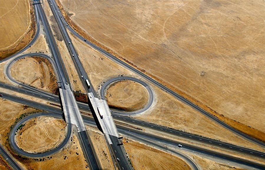 Landscape Photograph - Freeway 1 by Sylvan Adams