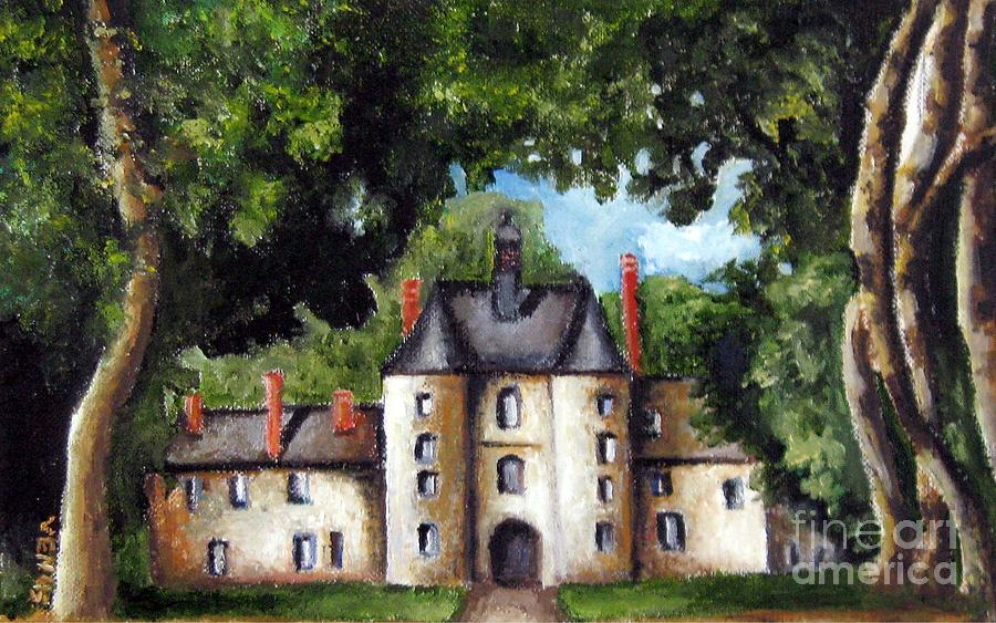 French Chateau Paintings