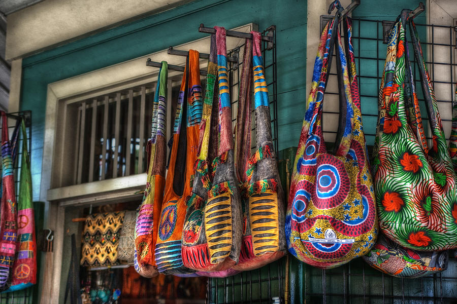French Quarter Photograph - French Market Bags by Brenda Bryant