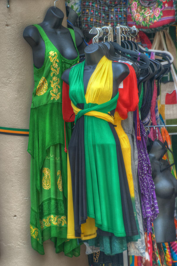 Clothing Photograph - French Market Color by Brenda Bryant