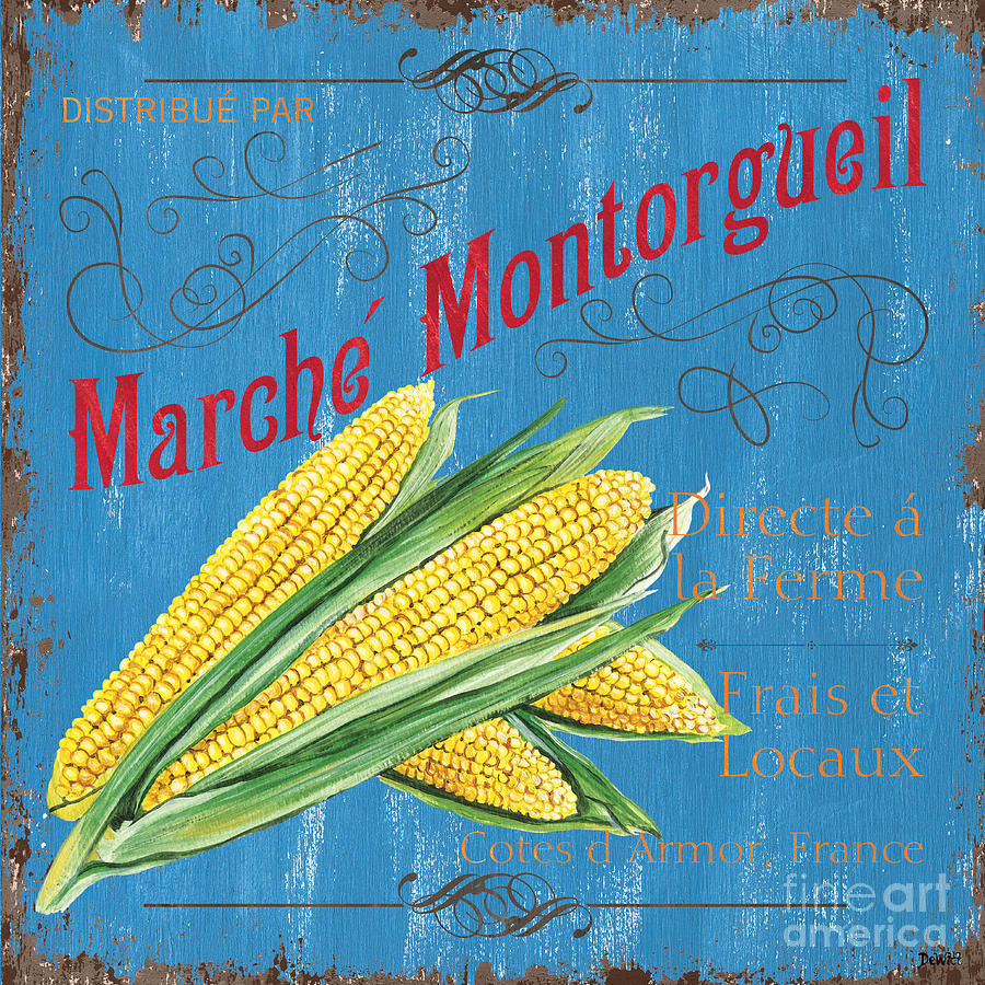 French Market Sign 2 Painting