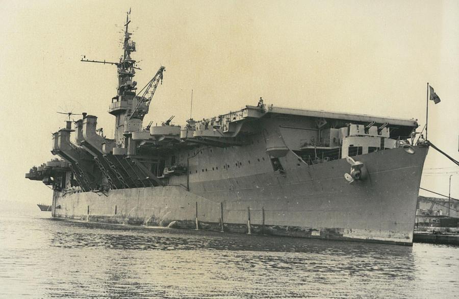 Retro Photograph - French Mediterranean Fleet Left Malta by Retro Images Archive