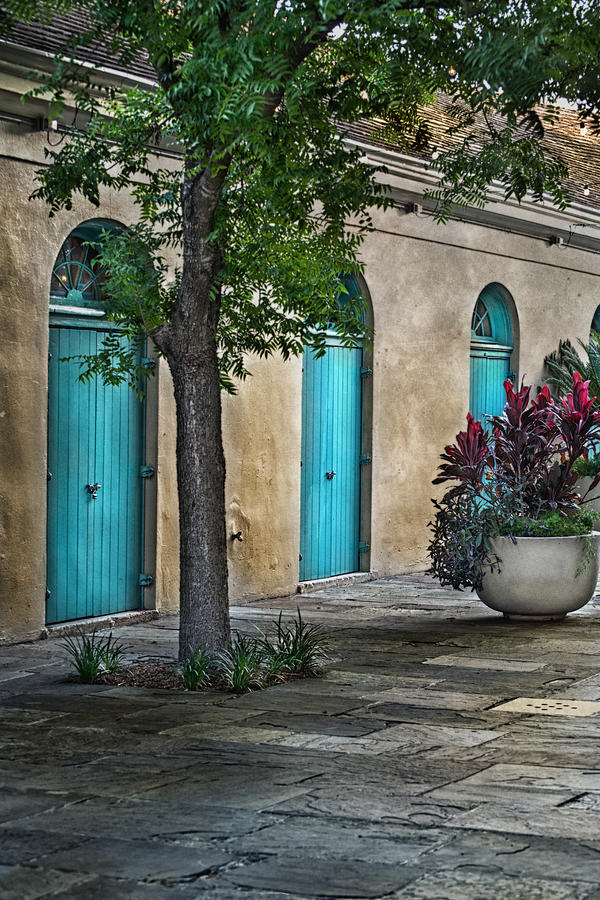 French Quarter Photograph - French Quarter Alley by Brenda Bryant