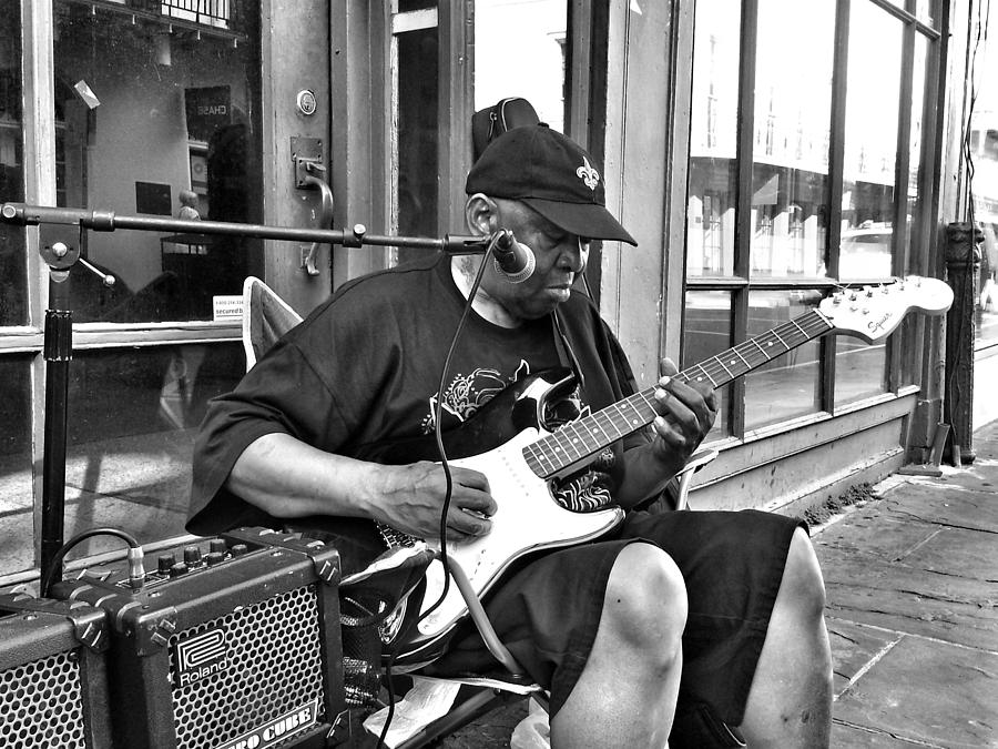 French Quarter Photograph - French Quarter Blues by Mike Barch
