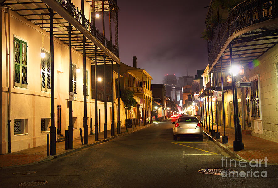 New Orleans Photograph - French Quarter by Denis Tangney Jr