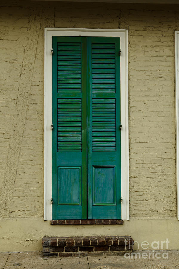 New Orleans Photograph - French Quarter Door - 15 by Susie Hoffpauir