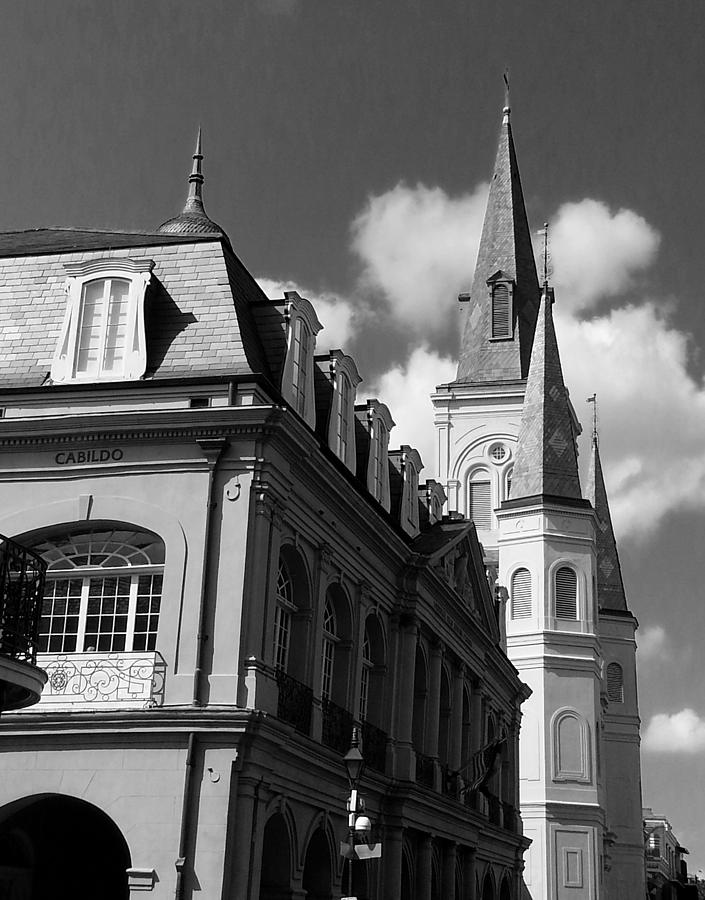 French Quarter Photograph - French Quarter - New Orleans by Mike Barch