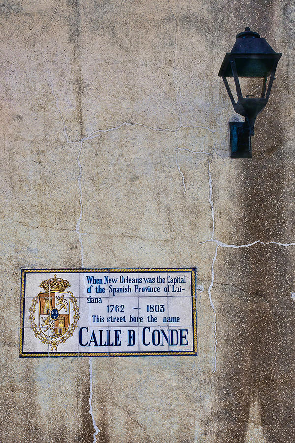 New Orleans Photograph - French Quarter Street Sign by Ray Devlin