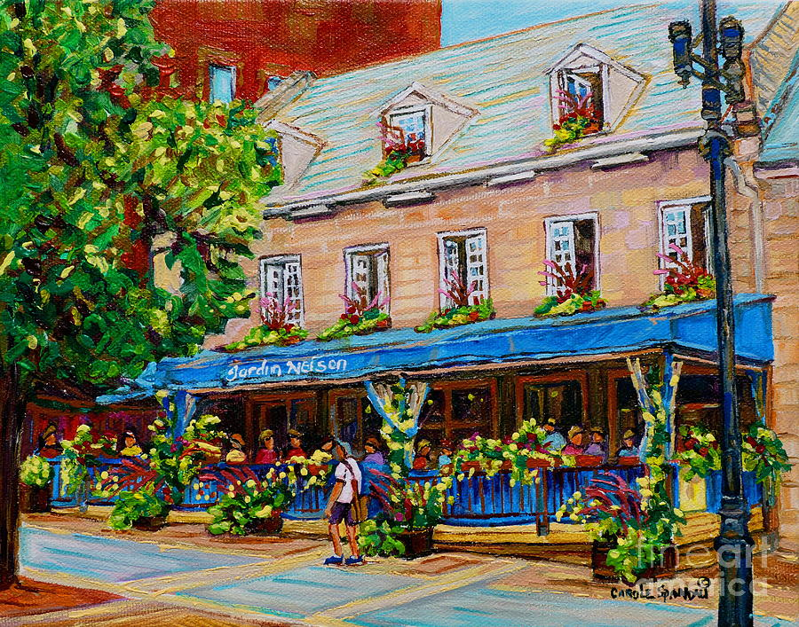 French restaurant jardin nelson paris style bistro place for Jardin nelson montreal menu