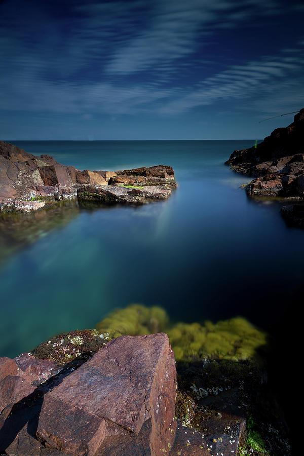 French Riviera Shoreline Photograph by Mako Photo