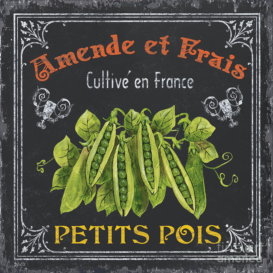 Vegetables Painting - French Vegetables 2 by Debbie DeWitt