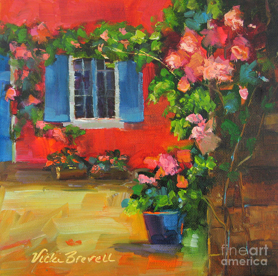 French Window by Vicki Brevell
