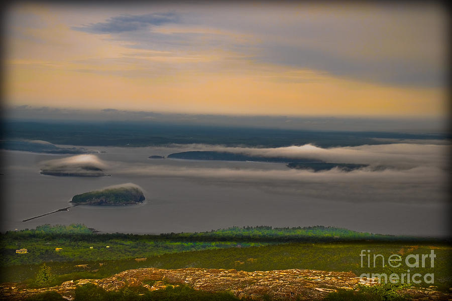 Maine Photograph - Frenchman Bay And The Porcupine Islands by Gary Keesler