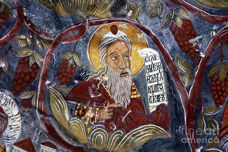Monastery Photograph - Fresco At The Sumela Monastery Turkey by Robert Preston
