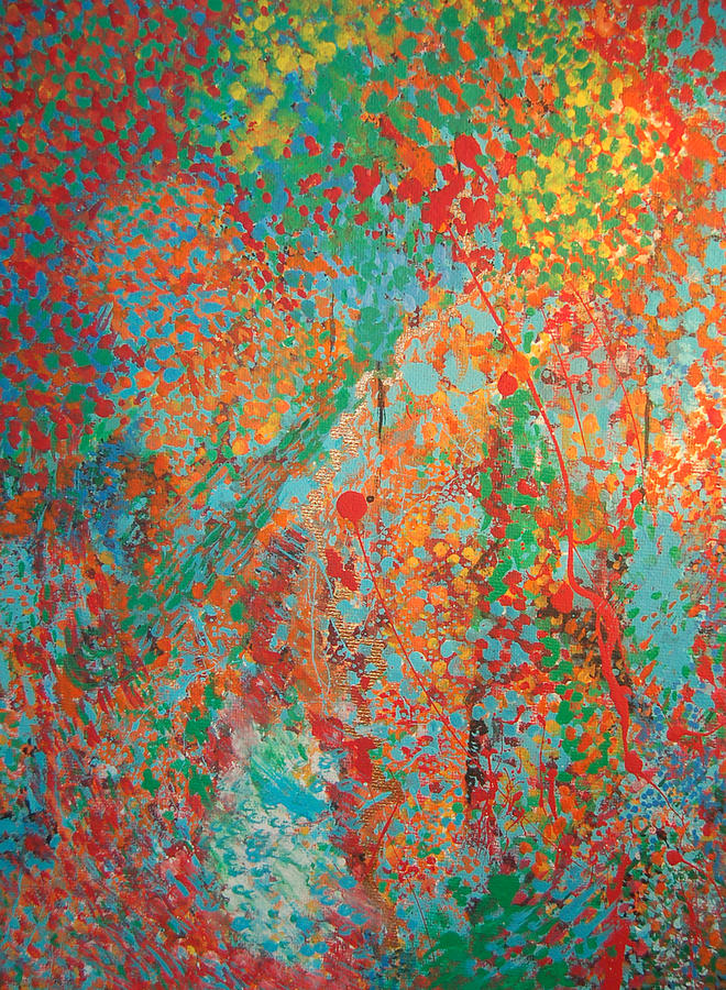 Abstract Painting - Fresh Dots by Gabe Arroyo