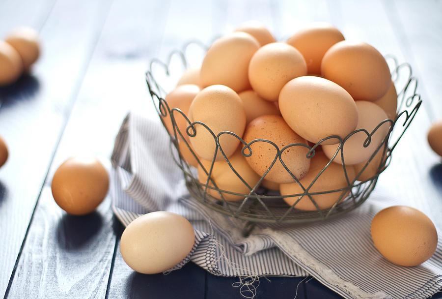 Fresh farm eggs Photograph by Török-Bognár Renáta