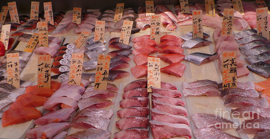 Isetan Photograph - Fresh From Tsukiji by David Bearden