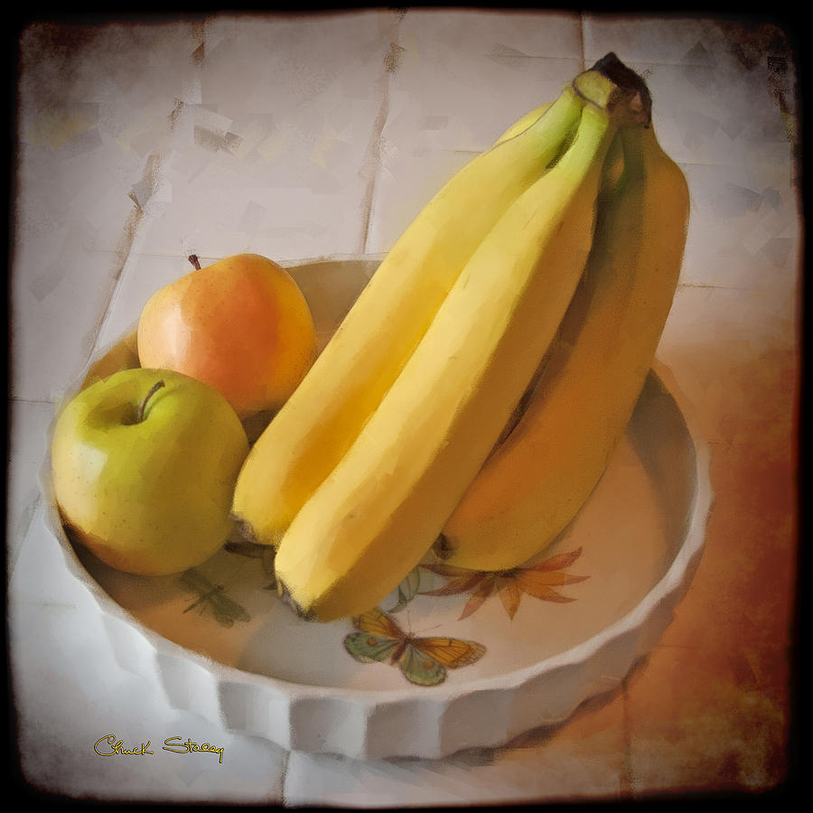Bananas Photograph - Fresh Fruit by Chuck Staley