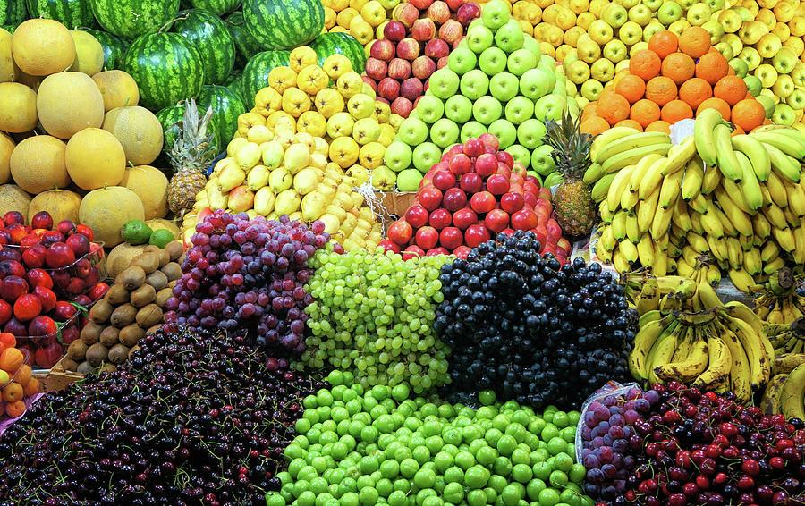 Fresh Fruit Photograph by Michelle Mcmahon