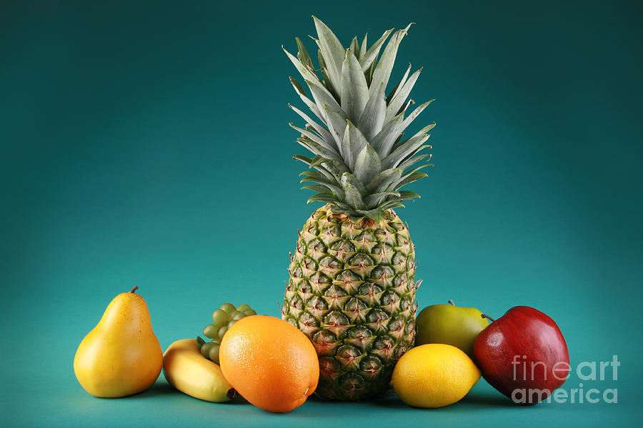 Isolated Photograph - Fresh Fruit by Sharon Dominick
