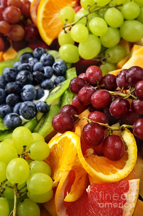 Fruit Photograph - Fresh Fruits by Elena Elisseeva