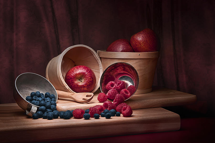 Abundance Photograph - Fresh Fruits Still Life by Tom Mc Nemar