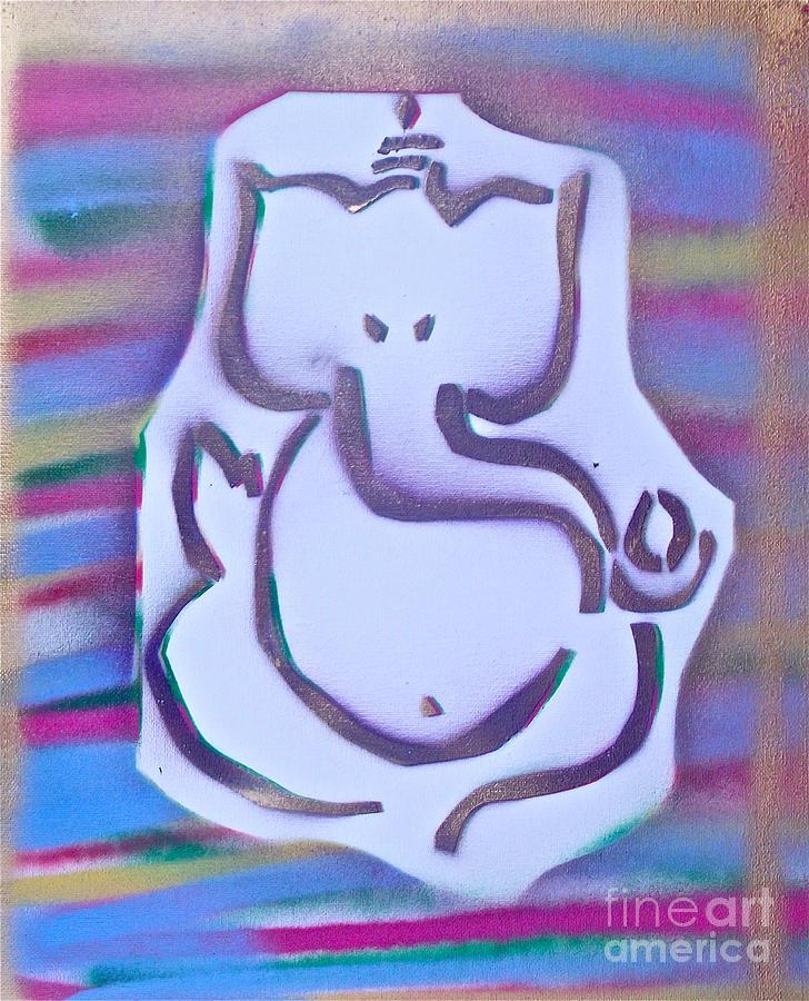 Graffiti Painting - Fresh Ganesh 1 by Tony B Conscious