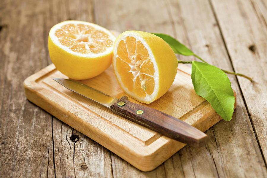 Fresh Lemon Photograph by Debbismirnoff