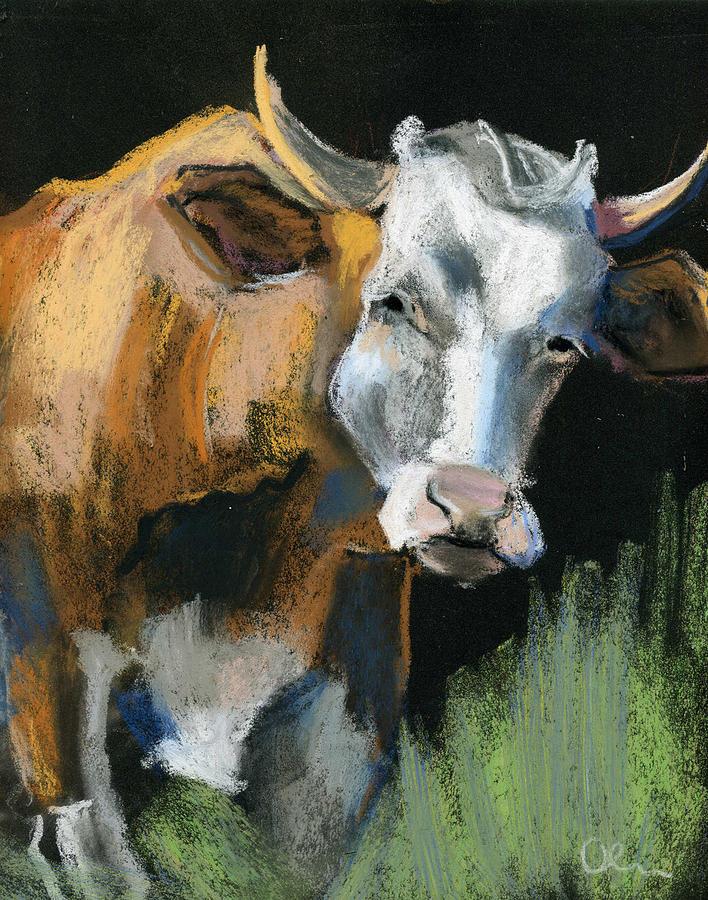 Animals Pastel - Fresh Milk by Lelia Sorokina
