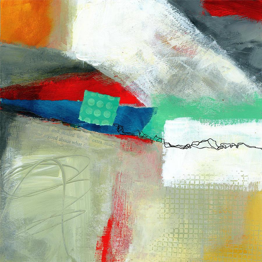 8x8 Painting - Fresh Paint #1 by Jane Davies