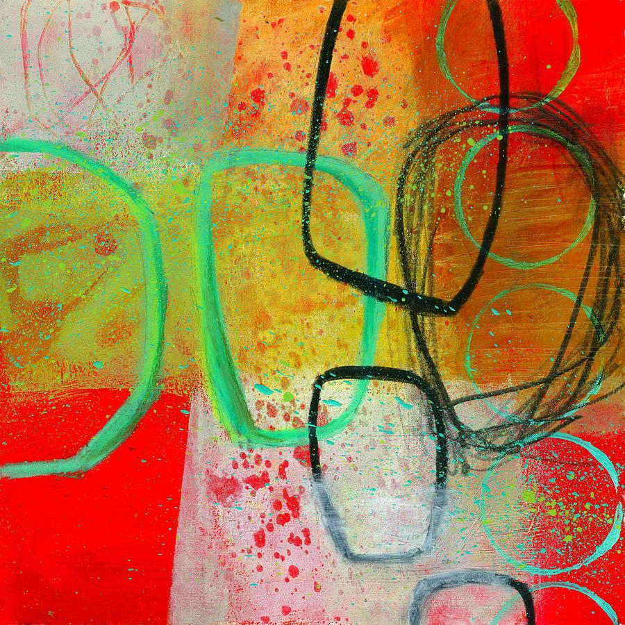 8x8 Painting - Fresh Paint #3 by Jane Davies