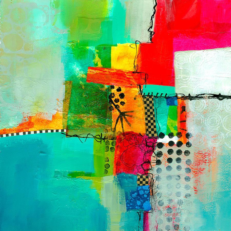 Fresh Paint Painting - Fresh Paint #5 by Jane Davies