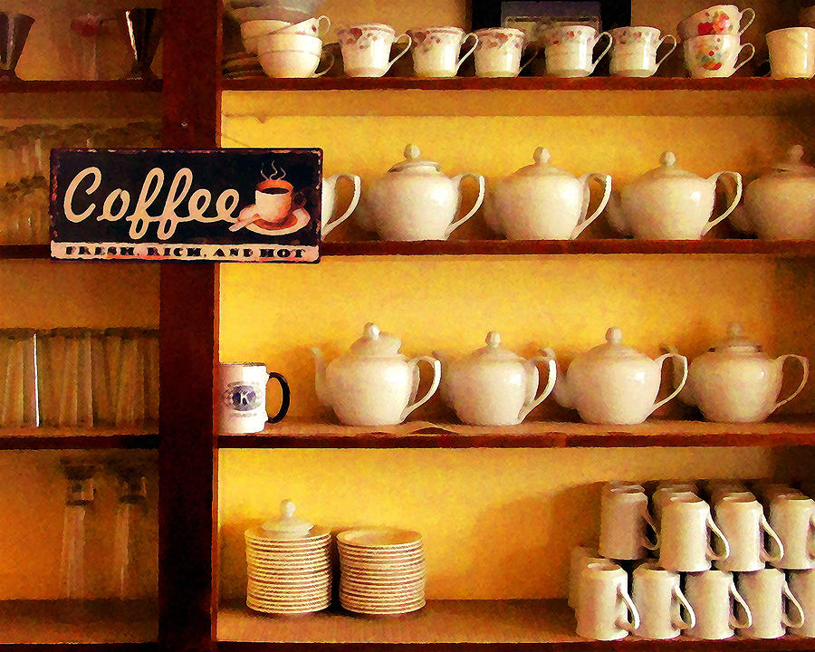 Coffee Photograph - Fresh Rich And Hot by Timothy Bulone