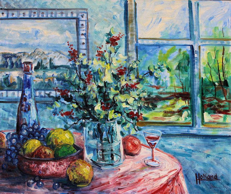 Impressionism Painting - Fresh Spring by Leonard Holland